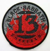 Black Sabbath - '13'  Woven Patch